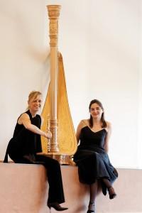 Duo Isatis, Isabelle Mennessier, flûte; Héloïse Dautry, harpe