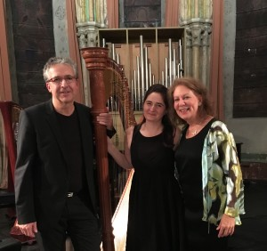 Trio Dautry Camilla Hoitenga, flûte; Héloïse Sautry, harpe; Antoine Dautry, alto